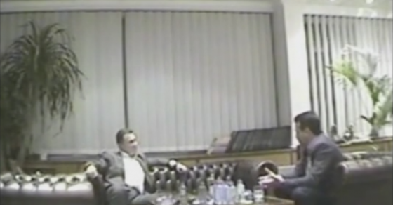 ЕКСКЛУЗИВНО ВИДЕО: Заев снимен како му се заканува на Груевски со странски служби